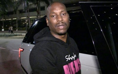Tyrese Gibson checked himself into hospital