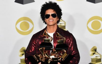 Bruno Mars Leads The Pack