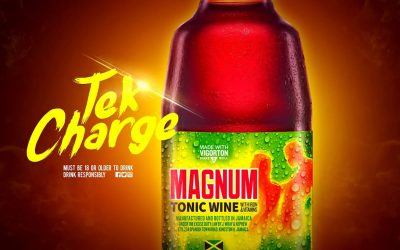 Magnum Tonic Wine has partnered Ding Dong  and Patrice Roberts