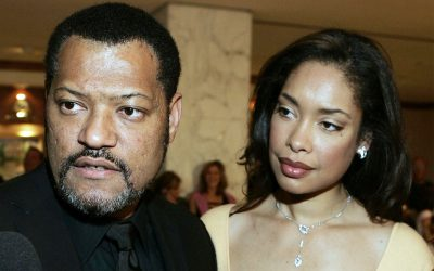 Laurence Fishburne and Gina Torres Split