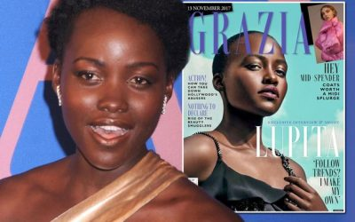Lupita Nyong'o is disappointed with Grazia Magazine