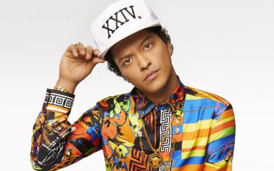 Singer Bruno Mars has topped $129 million in 24kMagic Tour Sales