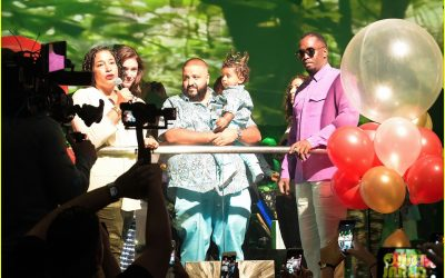 DJ Khaled throws massive birthday party for his son 1st birthday